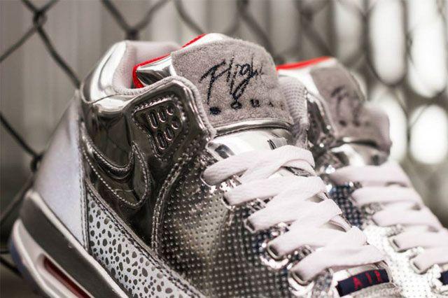 Nike Air Flight Squad Metallic Silver 1