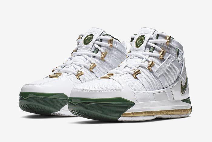 Nike Zoom Lebron 3 Svsm Release Pair