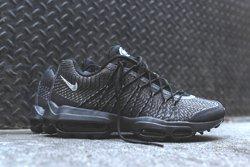 Nike Am95 Jacquard Black Grey Bumper Thumb