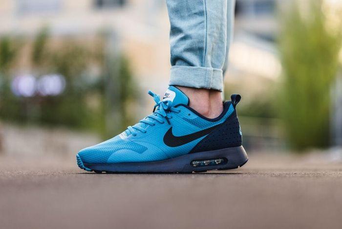 Nike Air Max Tavas Blue Red Drop October 2015 2