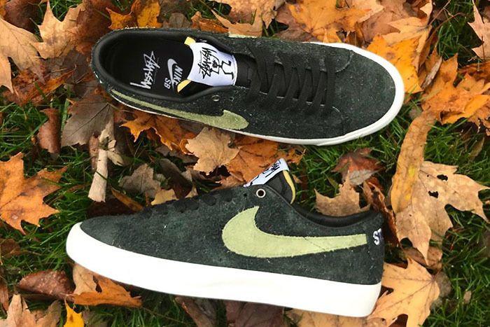 Stussy Nike Sb Blazer Low 1