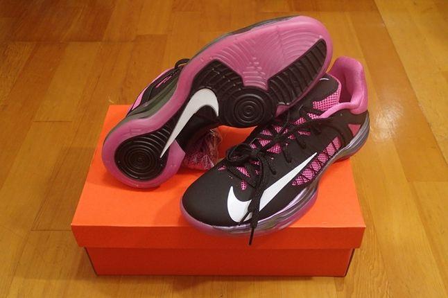 Nike Pink Hyperdunk Low Kay Yow Outsole 11