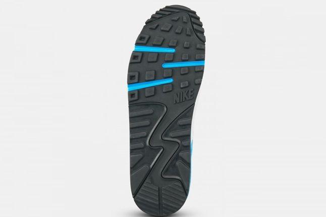 Nike Air Max 90 Premium Em White Blue Outsole 1