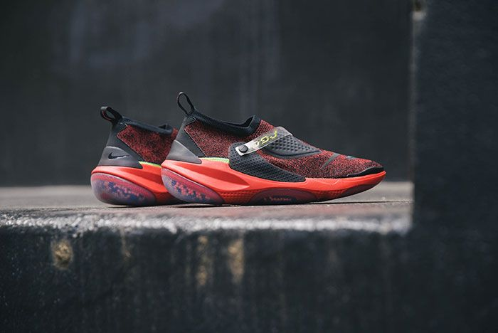 Nike Obj Joyride Flyknit Red Lateral
