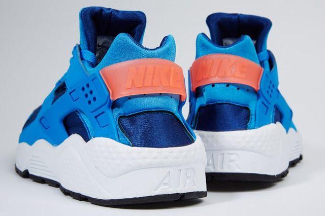Nike Air Huarache Gym Blue Mango 5