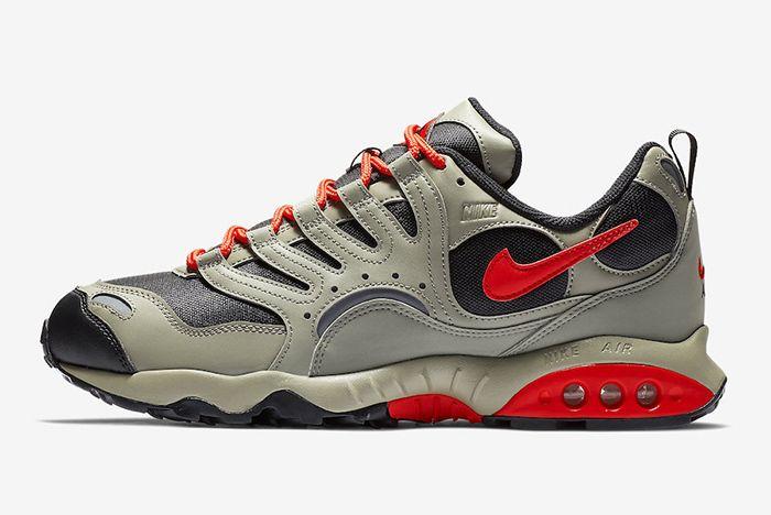 Nike Air Terra Humara Olive Black Orange 1