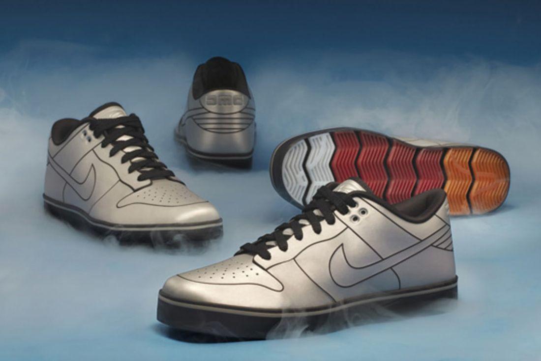"DMC-12 x Nike 6.0 ""DeLorean Dunk"""