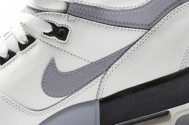 Nike Air Revolution White Grey Midfoot Detail 1