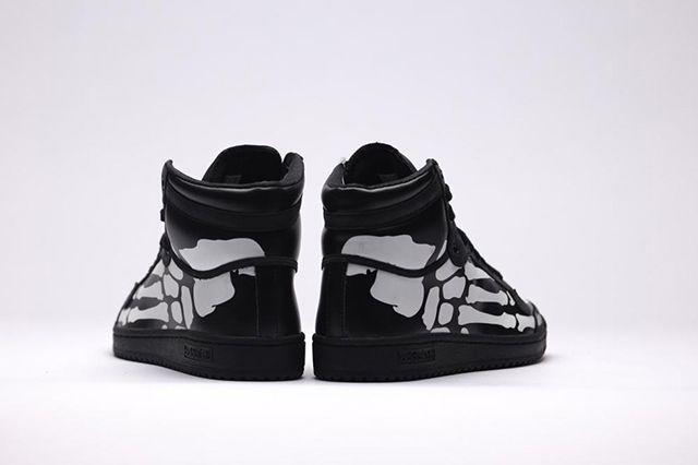 Adidas Top Ten Hi Core Black White5