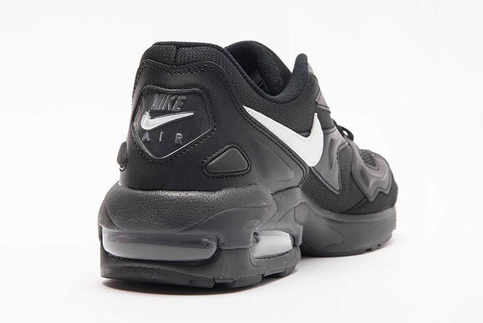 Nike Air Max 2 Light Black White 3