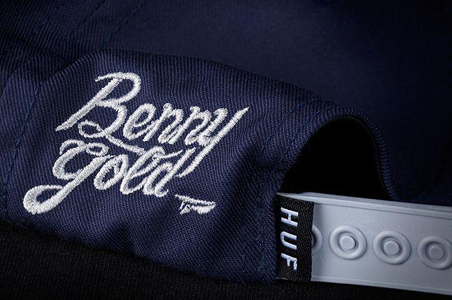 Huf Bennyg Etchasketch Logo Snapback Navy Detail2 1
