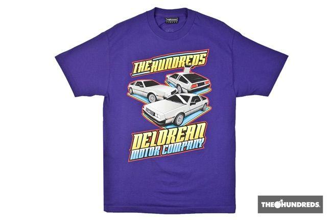 Hundred Delorean Car Show Purple 4 1