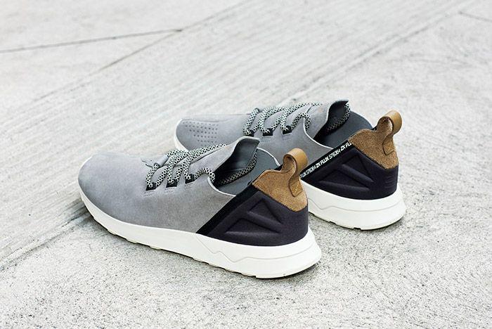 Adidas Zx Flux Adv X Grey Suede 4