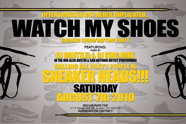 Watch My Shoes 646 1