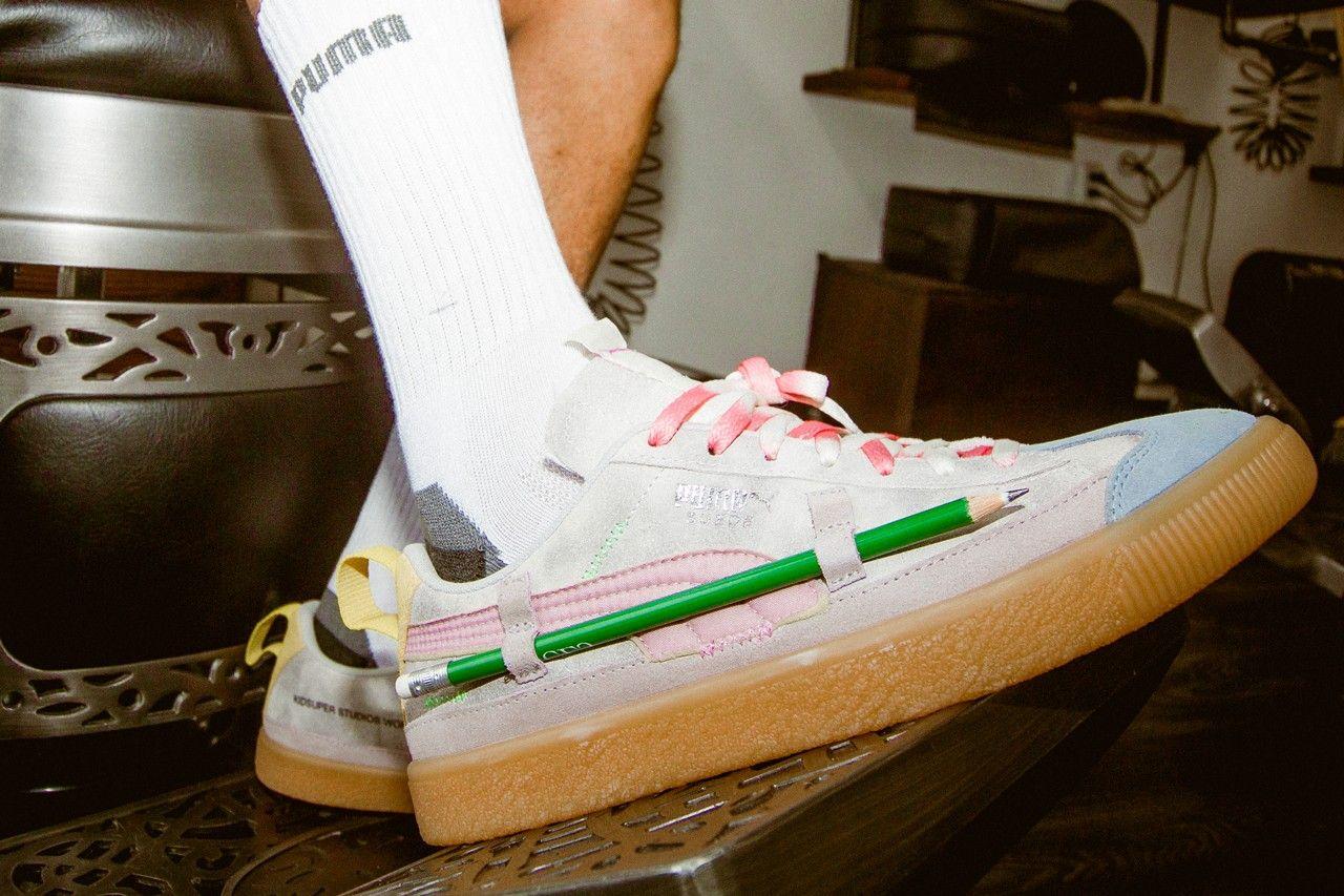 KidSuper x PUMA Suede RS-X Sandal
