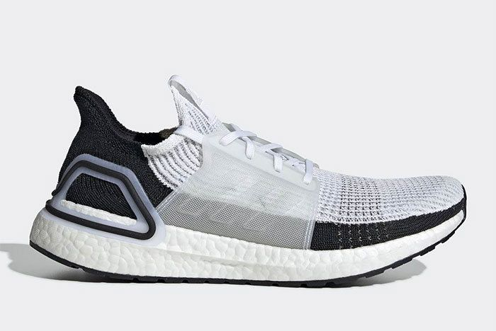 Adidas Ultra Boost 2019 Black White B37707 2