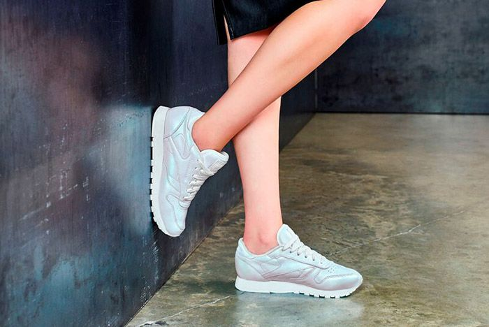 Reebok Classic Leather Pearl Pack Womens White 2