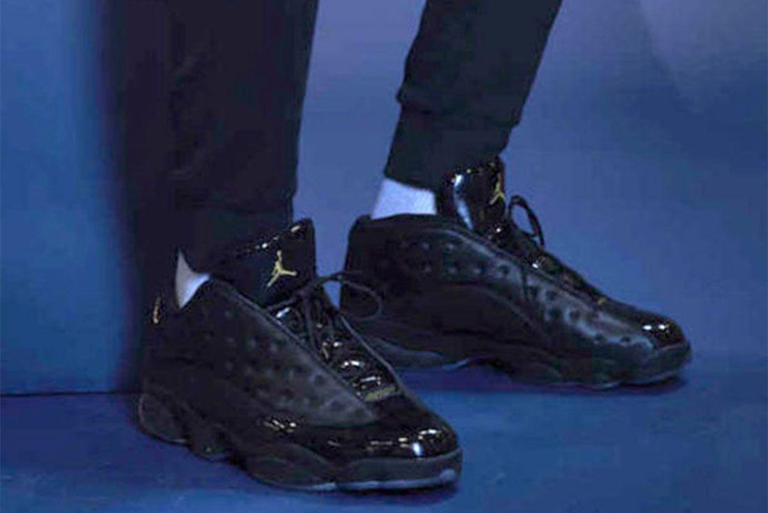 Air Jordan 13 Kawhi Leonard Black Paw Pe