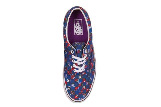 Vans X Liberty Art Fabrics Era Floral Checkerboard 1