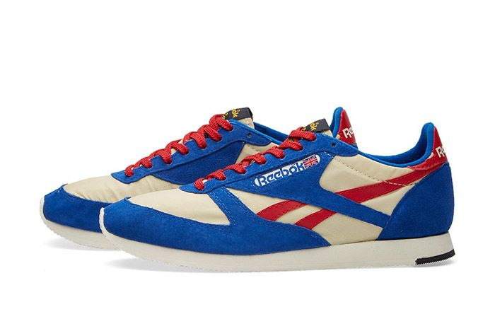 Reebok London Tc Vintage Red White Blue 5