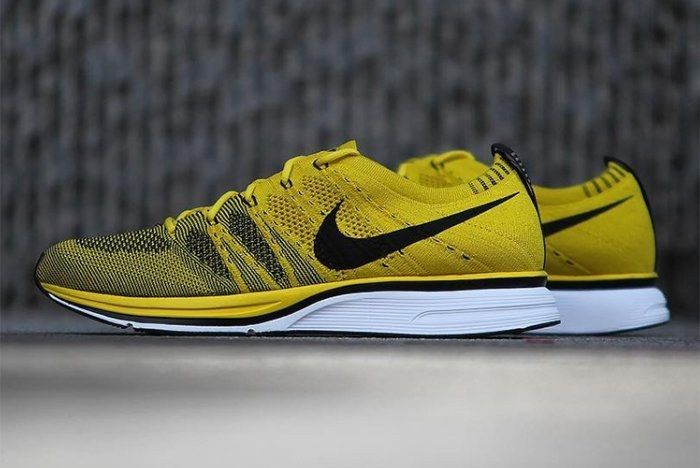 Nike Flyknit Racer Bright Citron 12