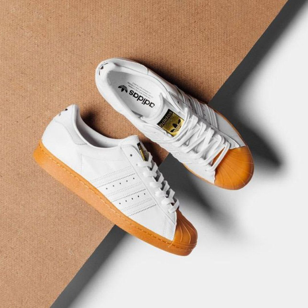 Adidas Originals Superstar 80 S Dlx White Gum Gram