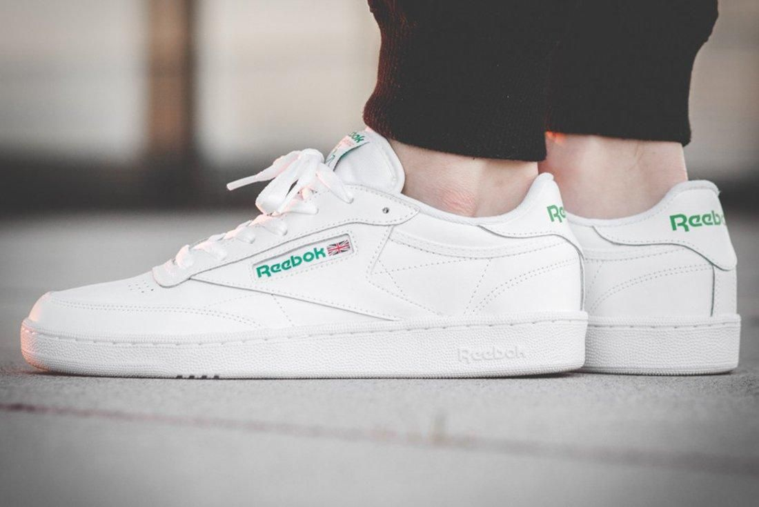 Reebok Club C 85 White Green4