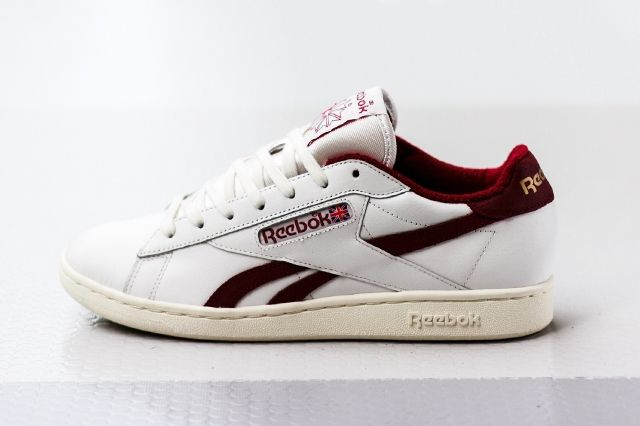 Reebok Npc Uk Chalk Burgundy 1