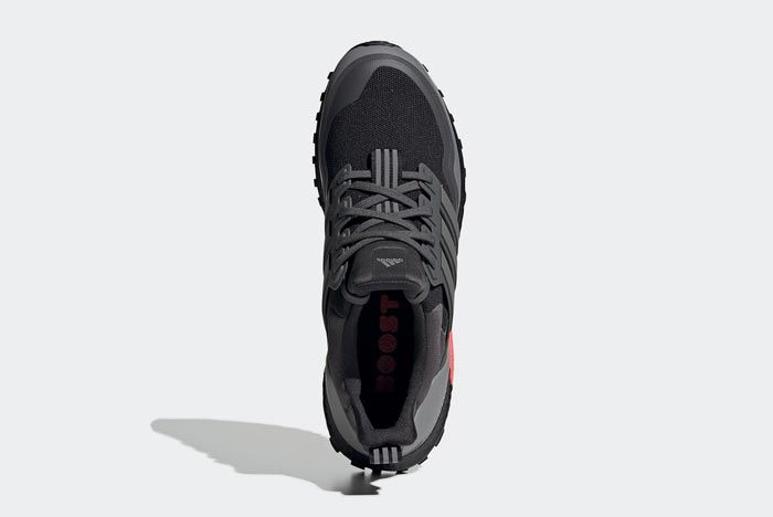 Adidas Ultraboost All Terrain Black Red Grey Top