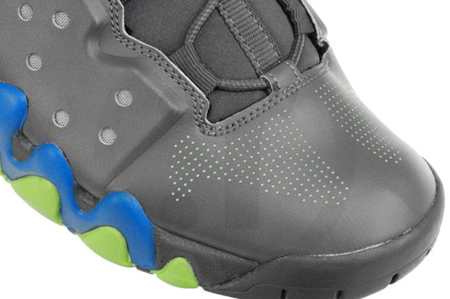Nike Air Max Barkley Dark Grey Photo Blue Green Heels Toe 1
