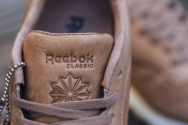 Reebok Classic Leather Lux Horween Natural 4
