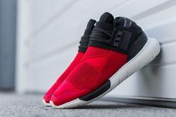 Adidas Y 3 Qasa High Black Red Thumb