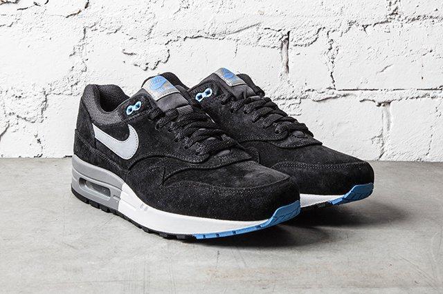 Nike Air Max 1 Premium Black N Blue