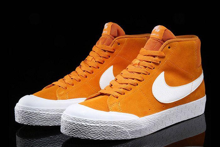 Nike Sb Blazer Circuit Orange 4