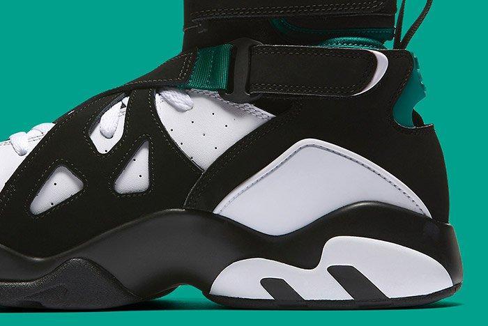 Nike Air Unlimited Retro White Black Emerald 3