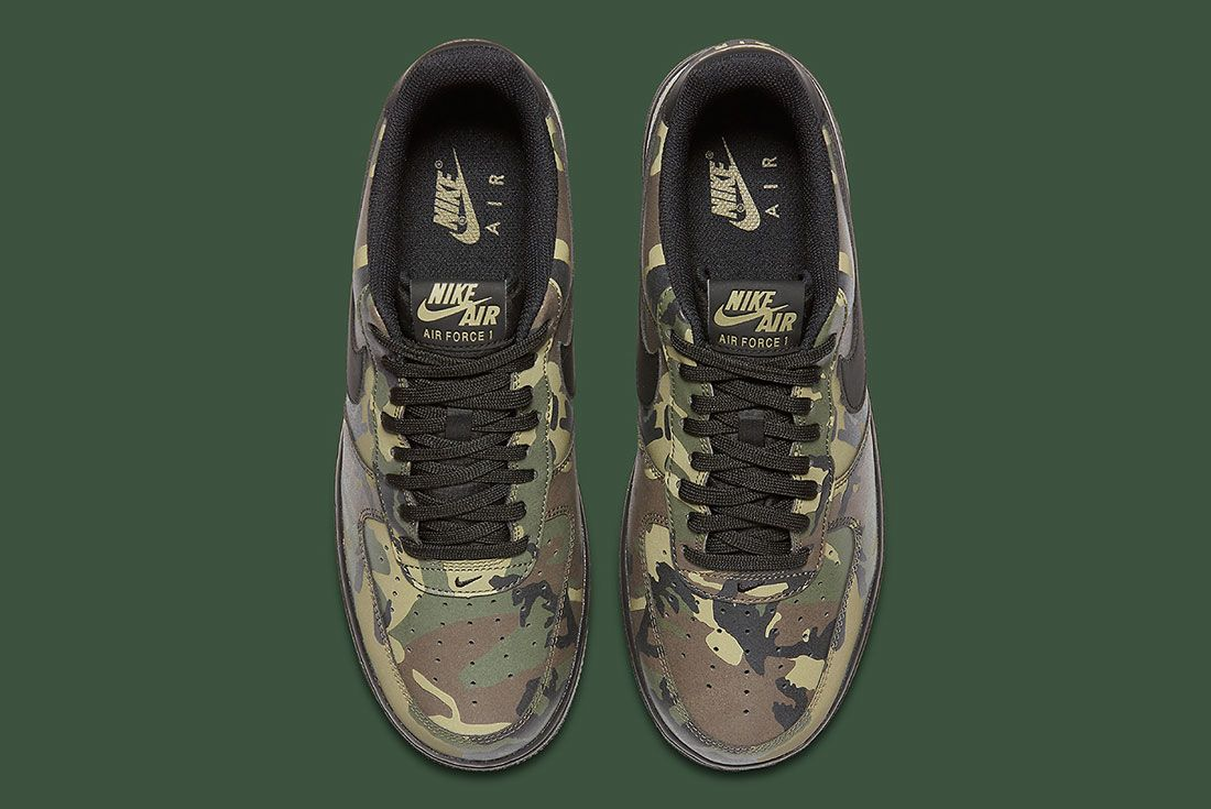 Nike Air Foce 1 Camo Reflective 6