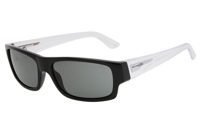 Wager Gloss Black With Transparent Stems Grey An4144 2047 87 1