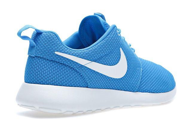 Nike Roshe Run Blue Heel 1