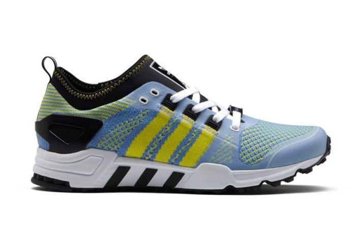 Palace Adidas Eqt White Yellow Blue 1