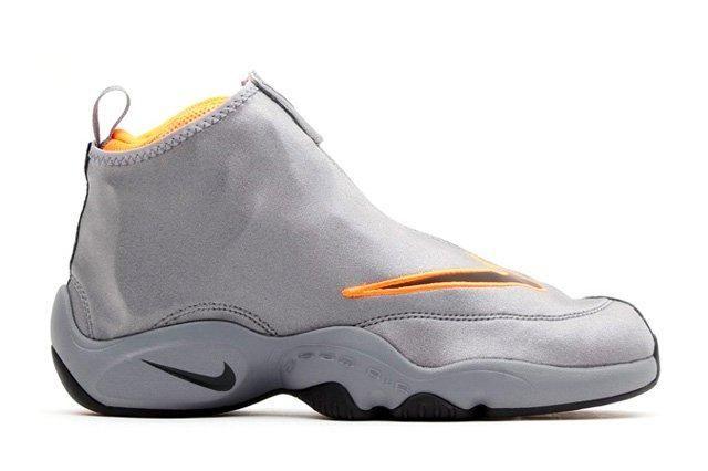 Nike Zoom Air Flight The Glove Coolgrey Total Orange 2