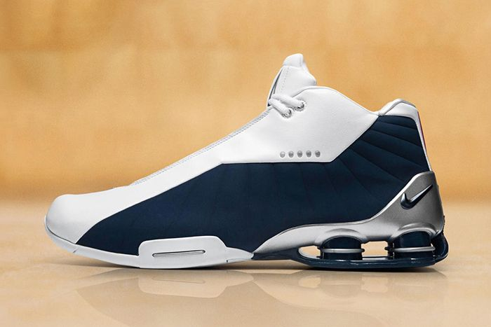 Nike Shox Bb4 Olympics Vince Carter 2019 Retro Release Date Lateral
