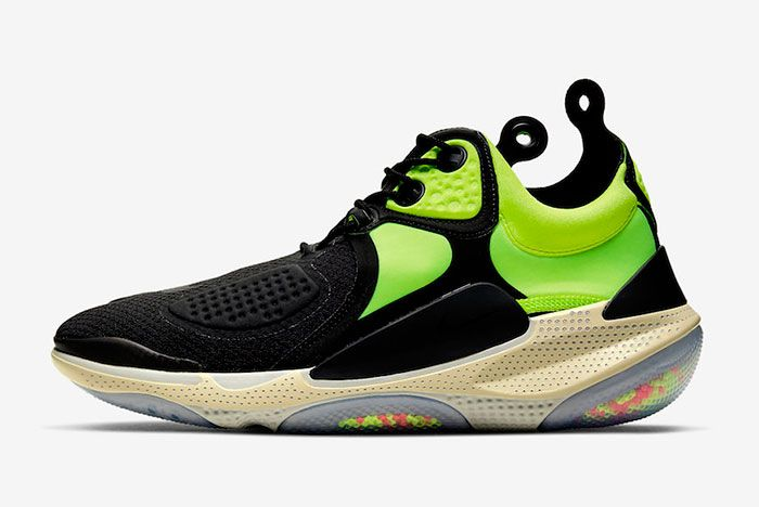 Nike Joyride Nsw Setter Black Neon Green At6395 002 Lateral