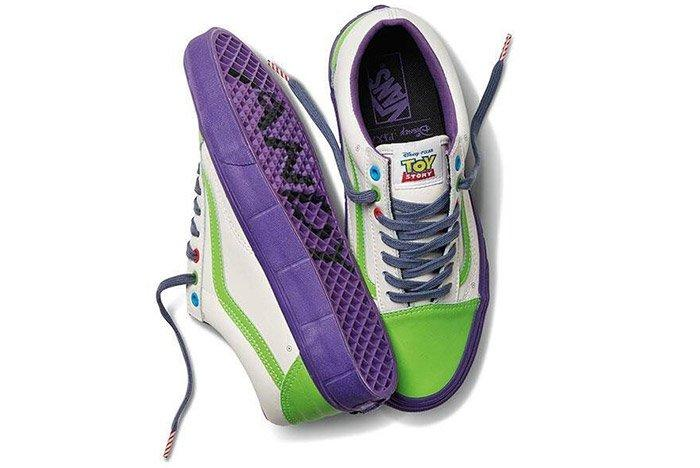 Toy Story Vans Old Skool Buzz
