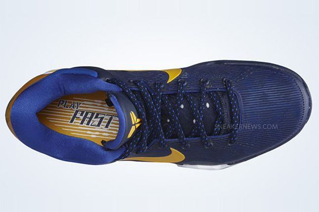 Nike Zoom Kobe Vii Obsidian University Gold Game Royal Wolf Grey 3 1