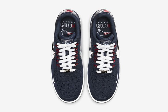 Nike Air Force 1 Flyknit New England Patriots Top