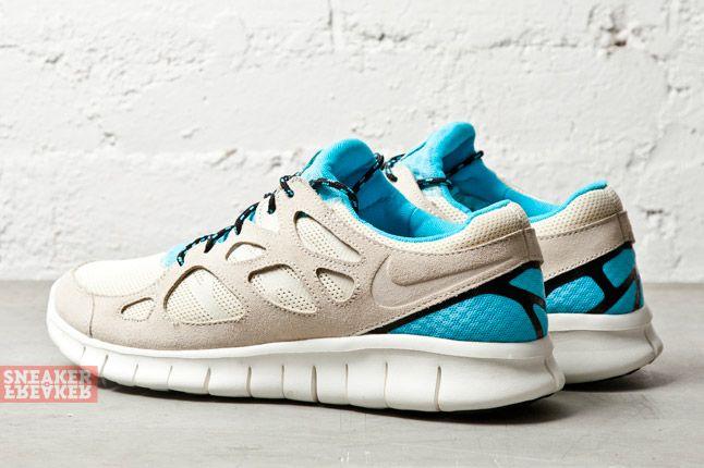 Nike Free Run 2 Beach Gamma Blue 1