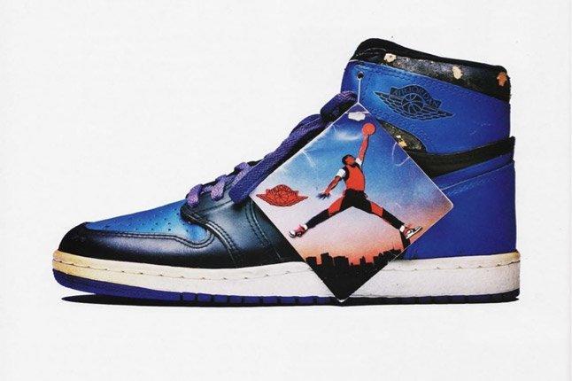 Blue Air Jordan 1 1