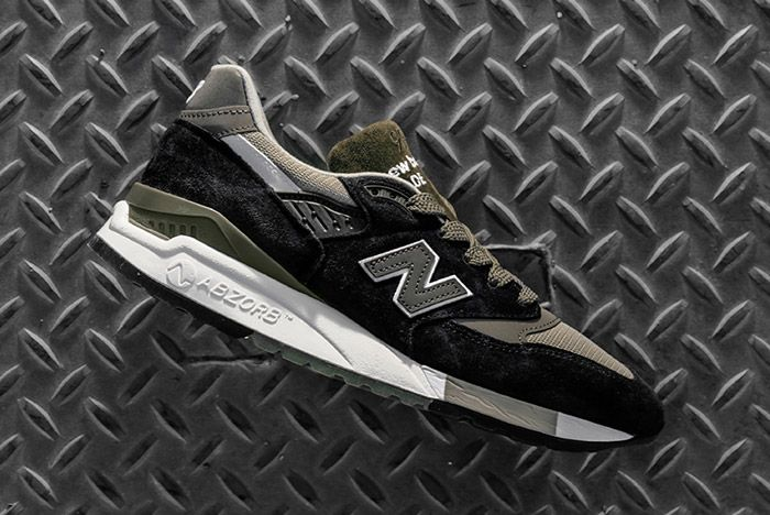 New Balance 998 Made In Usa Black Olive 3