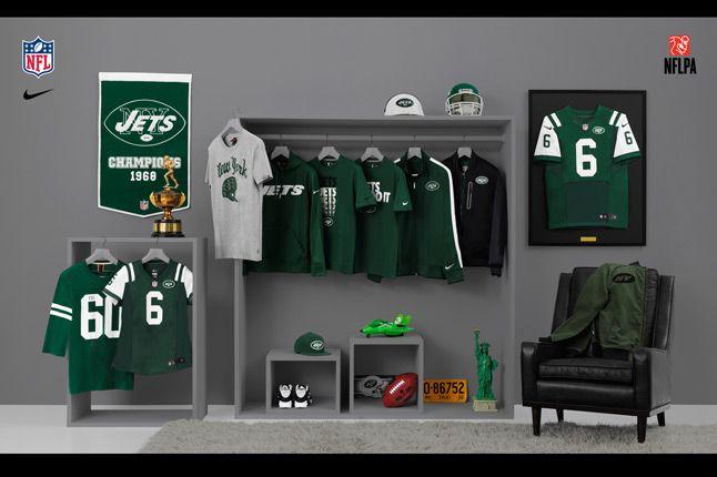 Nike Nfl Fanwear Ny Jets 2012 1