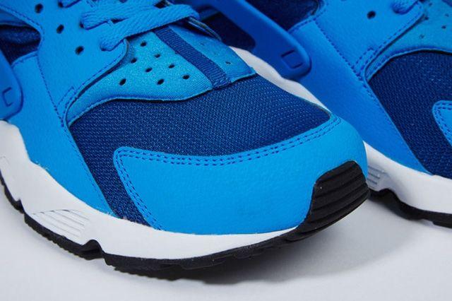 Nike Air Huarache Gym Blue Mango 4